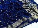 Banarasi Handloom Chiffon Silk Saree