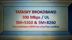 Tatasky Broadband, 1 Month, 300 Mbps