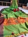 Katan Silk Weaving Saree