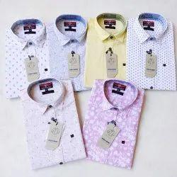 Men's print lenin shirt