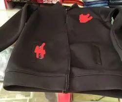 Sandwich Scuba Fabric jacket, Prints/Pattern: Plain/Solids, Color: Multicolor