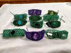 Stone Macrame Bracelets