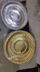 Silver Partition Plate