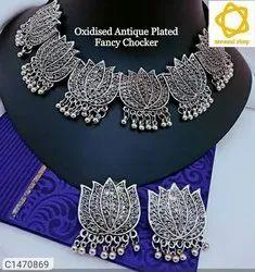 Silver Metal Jewellery