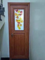 Aluminium And Glass Powder Coated Aluminum Bathroom Door