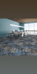 Square Grey Responsive Carpets, Size: 50 X 50