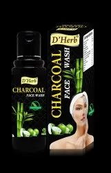 D'herb Herbal Charcoal Face Wash, Age Group: Anybody, Packaging Size: 100ml