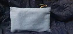 Canvas zipper pouch
