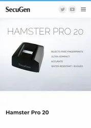 Secugen Hamster Pro 20