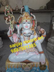 Marble mhadev shiva  statue