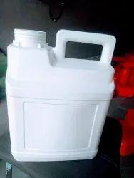 Adhesive HDPE bottle