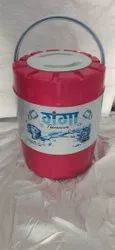 Blue Plastic Thermoware Water Jugs, Capacity: 18 Ltr