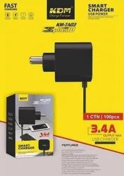 KDM - KM TA 03 , 3.4 A Mobile Charger