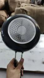 Apax Black Hard Anodized Fry Pan, For Home, Capacity: 1.2.&3