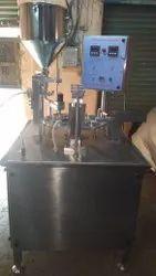 Automatic Twin Head Liquid Filling Machine