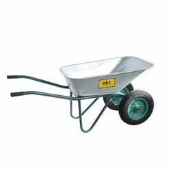 Alloy double wheel barrow