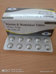 Bilastine And Montelukast Tablet