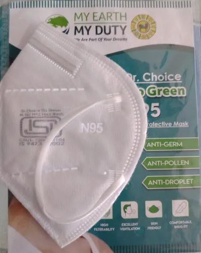 Go green N 95 Mask with ISI