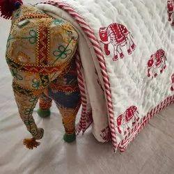 Handblock Printed Baby Quilts