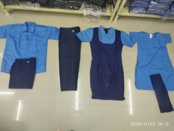 Cotton Boys School Uniform, Size: Medium