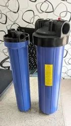 Blue Jumbo Filter Housing, For Industrial, Size: 20x4