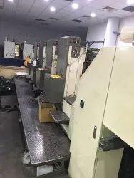 Mutubushi 2 F.  Colour Off-Set Printing Machine