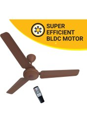 Brown Electricity Super Efficient Ceiling Fan, Sweep Size: 1200mm, Power: 28w