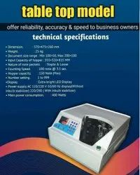 Desk Top Bundle Note Counting Machine