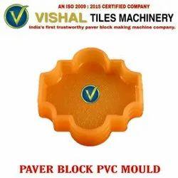Plain Paver Block PVC Mould