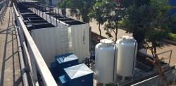 Modular MBR Sewage Treatment Plant