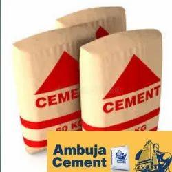 Ambuja Cement Grade 53 OPC 50kg bag