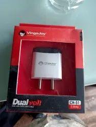 Vingajoy 2.4 Amp 2 USB Charger