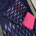 Ikkat Dress Material