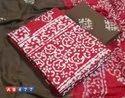 Original Wax Batik Print Cotton Suit