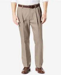 Zakheera Cotton.polyster Pleated Trousers, Size: 34.36.38.40.42.44