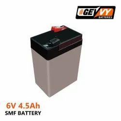 6V 4.5AH电池