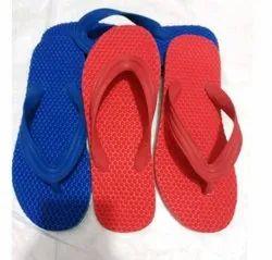 Aru Close Toe Rubber Slippers, Design/Pattern: Health, Size: 6*10