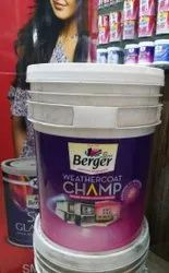 Berger Weathercoat Champ Paint, Packaging Size: 1 To 20 Ltr