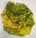 Party Wear Handwoven Green Yellow Pattu Silk Saree, 6.3 M (with Blouse Piece)