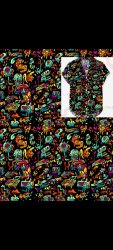 Multi Color 36 MENS DIGITAL Print Shirt Fabric, Machine wash, 80