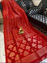 Organic Linen Zari Weaving Saree