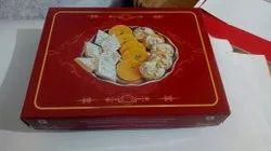 Cardboard and Metal Designer Sweet Packaging Box, Size: 500gms And 1kg