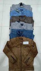Full Sleeve Printed Leather Jackets