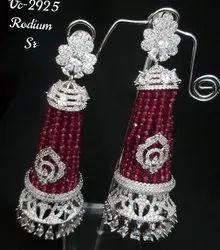 Vivah Creation Wedding,Party AD Jhumki Earrings