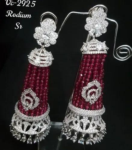 AD Jhumki Earrings