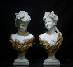 Handcrafted Cultured Marble - Decor Statue