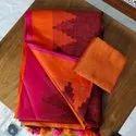 Temple Linen Saree