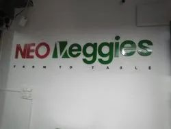 Solid Acrylic Letters