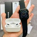 White Silicone Apple Watch Series 6