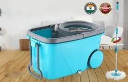 Mop Bucket 360 Spin Mop System With Wheel
